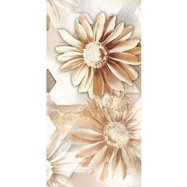 Digital Wall Tile Brown Sunflower