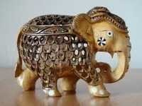 Beautiful Wooden Handcrafted Elephant