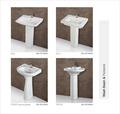Wash Basins and Pedestal