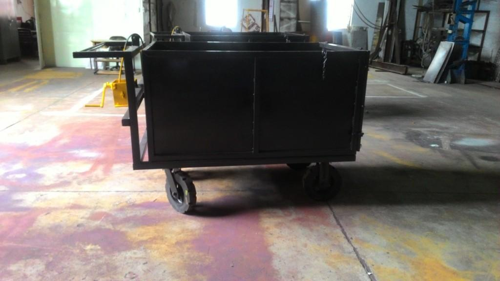 Sludge Movement Trolley