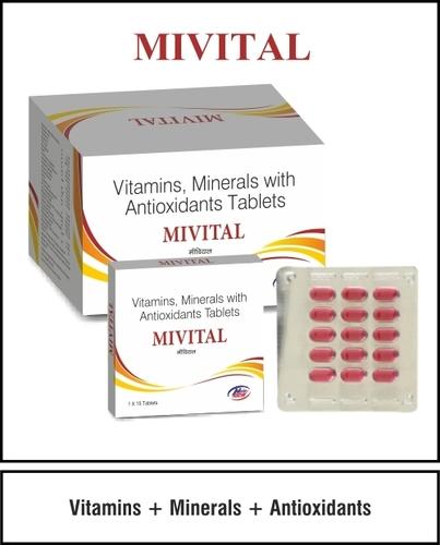 Vitamins+Minerals+ Antioxident
