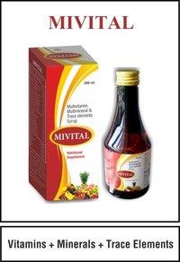 Vitamins + Minerals + Trace Elements