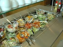 Salad Display Counter