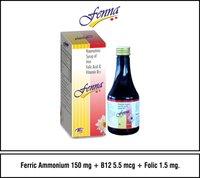 Ferric Ammonium Citrate + B12 +Folic