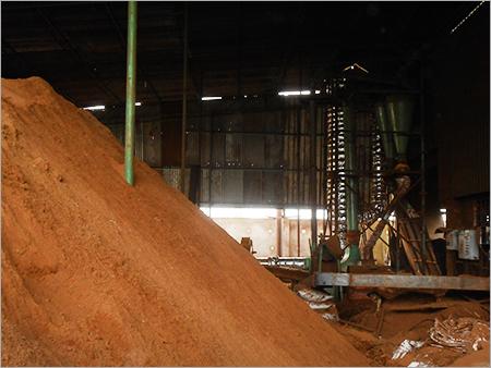 Wood Pellet Dust