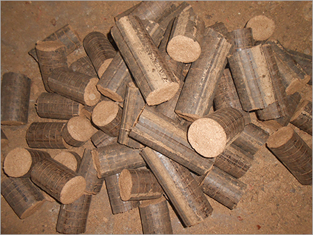 Wood Dust Briquettes