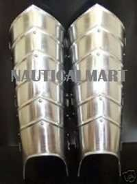 Steel Armor Greaves Leg Guard