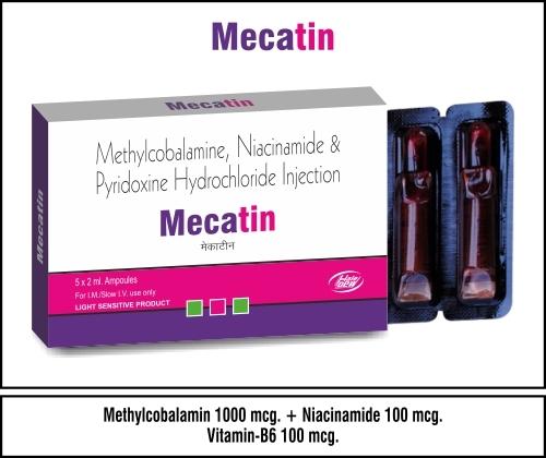 Methylcobalamine + vita B1+ Vita B6