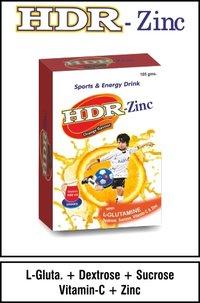Dextrose + Surcrose + Vitamin C + Zinc