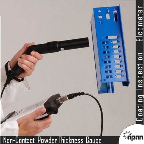 Non-Contact Powder Thickness Gauge