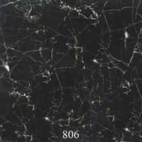 Glossy Look Black Floor Tiles