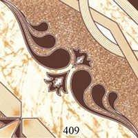 Ivory Glossy Ceramic Floor Tiles
