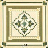 Printed Ivory Glossy Floor Tiles