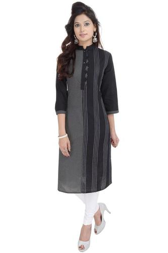 Printed New kurti Cotton