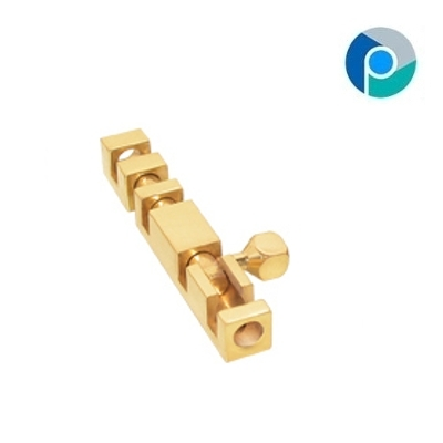 Brass Tower Bolts Conceal Square