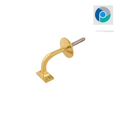 Antique Brass Handrail Bracket