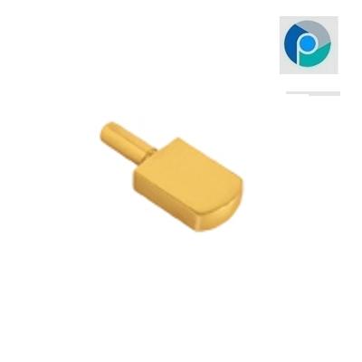 Brass Self Button Bat Glass Bracket
