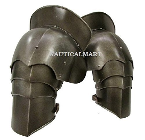 Medieval Larp Armor Pauldrons, Spaulders Guard