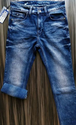 Banded jeans