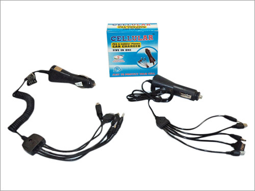 Mobile Phone Car Charger (5 In 1 With Warranty