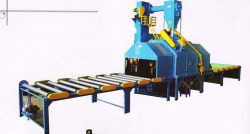 continuse  roller conveyor type machine