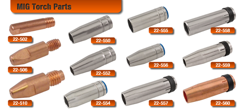 Conical Nozzles for MIG Torches
