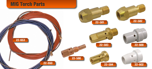 Diffusers for MIG Torches