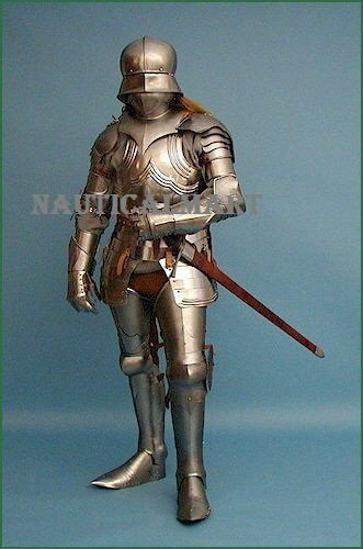 Medieval  Gothic Knight  Armor Wearable Full Suit Of Armor