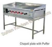 Chapati Plate With Puffer