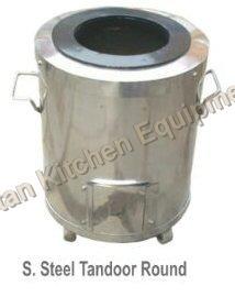 S Steel Tandoor Round