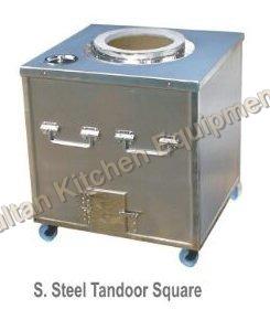 S Steel Tandoor Square