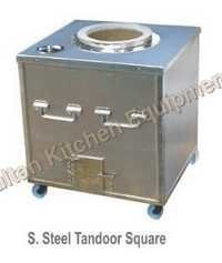 S Steel Tandoor Square