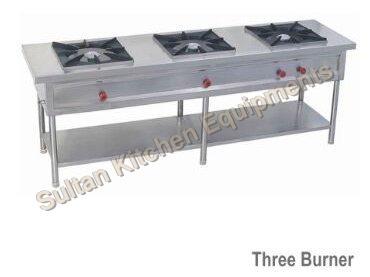 Three Burner