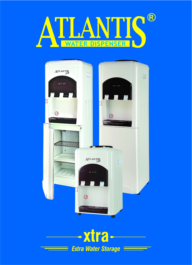 Atlantis XTRA Water Dispenser with Cooling Cabinet