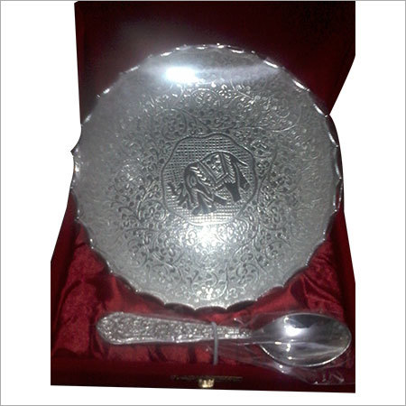 Silver Plated Gift Bowl Set