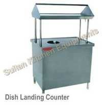 Dish Landing Counter