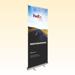 Alumina Rollup Banner Stand