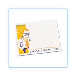Hospital Printed Sticky Notepad