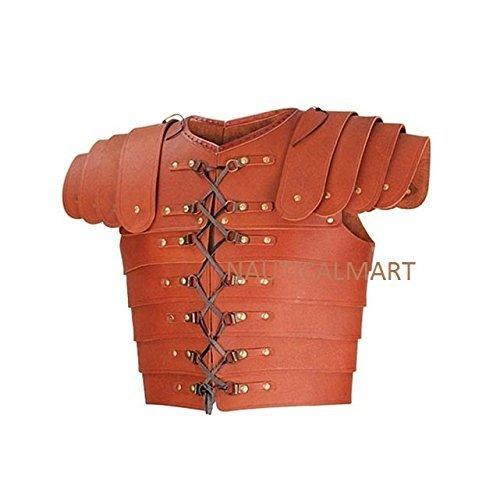 Medieval Roman Leather Lorica Segment Armor