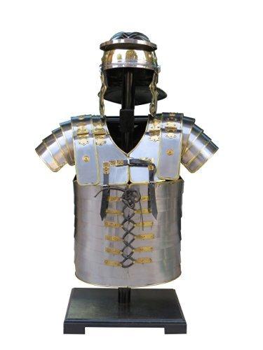 Armor Breastplate Larp w/ Helmet Lorica Segmenta Roman