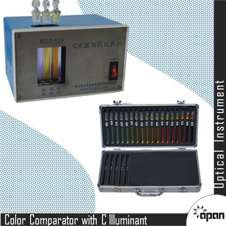 Color Comparator with C Illuminant