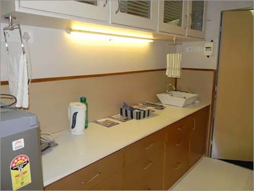 Prefab Kitchen / Toilet