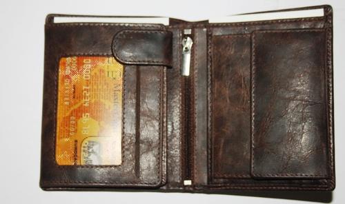 Tri-Fold Leather wallets