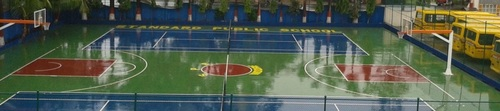 Basketball Flooring Court