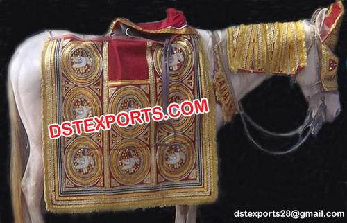 Traditional Indian Wedding Horse Decoration