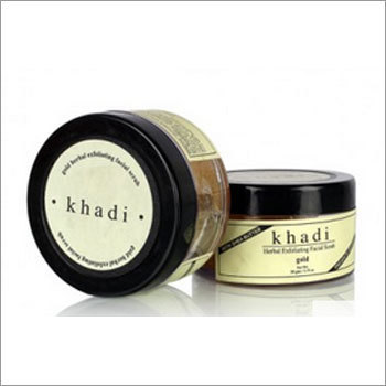 Herbal Face Massage Gold Scrub