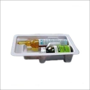 Plastic Ampoule Packaging Tray