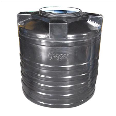 Black Plastic Water Tank