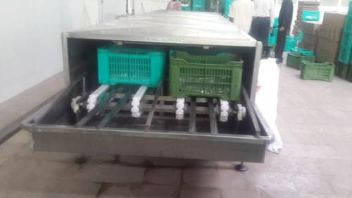 Crate Cooling Conveyor