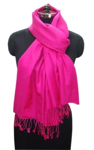 Red Silk Pashmina Shawls
